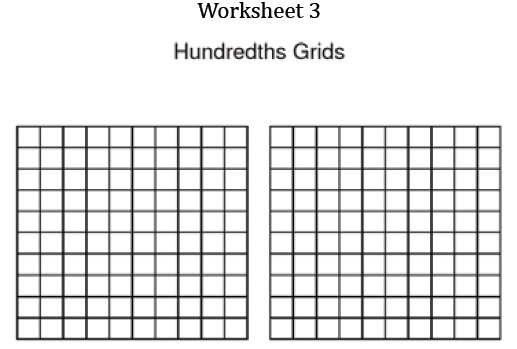 graphic regarding Hundredths Grid Printable named Tenths Hundredths Azim Premji Basis Puducherry